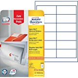 Avery 6123 Etiquettes 97 x 42.3mm Blanc