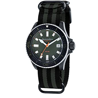 44530e00ec0 Spinnaker Mens Analogue Classic Automatic Watch with Leather Strap SP-5039-04   Amazon.co.uk  Watches