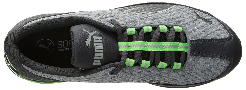 Puma Mens Zapatos De Deporte De Malla Sintético Negro Y Rojo 0DlrXJyr4g