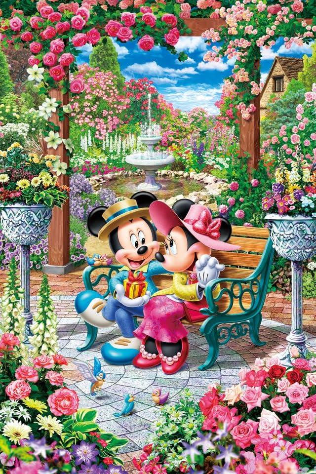 ディズニー 恋咲くロイヤルガーデン iPhone(640×960)壁紙 画像73103 スマポ