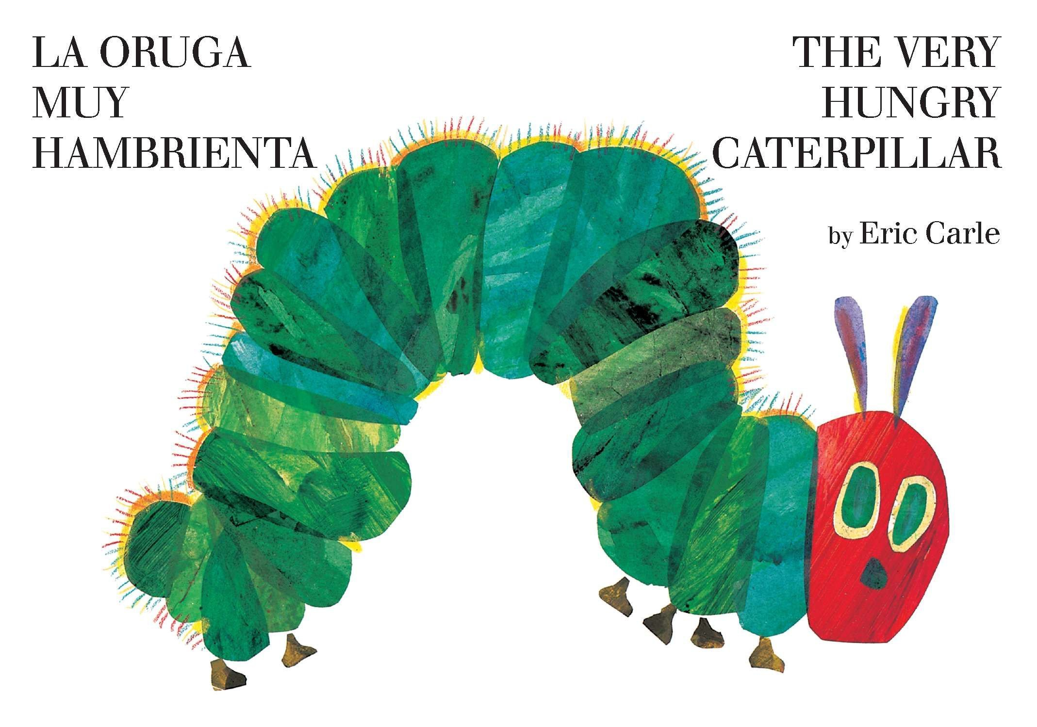 Image result for bilingual The Very Hungry Caterpillar
