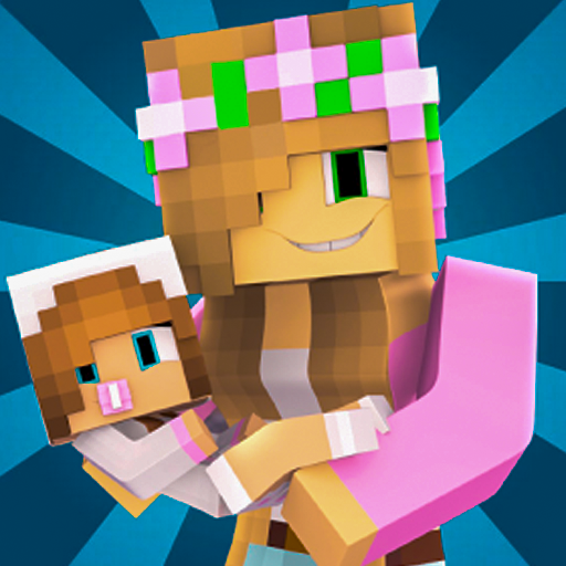 Baby Girl Skins for Minecraft PE