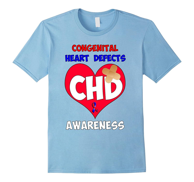CHD Congenital Heart Disease Awareness T Shirt-TH