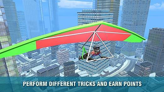 Amazon com: Real Hang Gliding Flying Simulator: Aerial Rush
