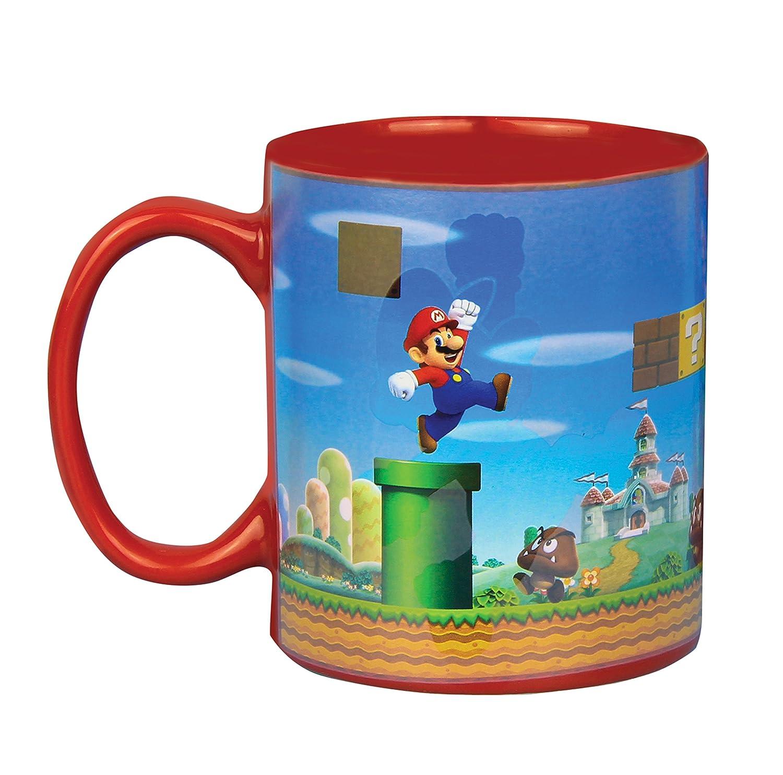 Super Mario Bros. Heat Change Mug: Amazon.co.uk: Kitchen & Home