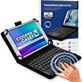 """Cooper Touchpad Executive [Multi-Touch Mouse Keyboard] case for 7-8"""" Tablets 