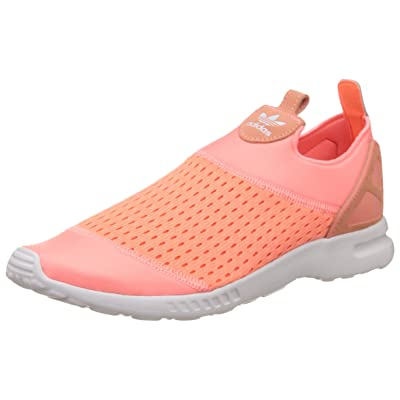 adidas Originals Women's ZX Flux Adv Smooth Slip on Trainers UK6 Pink