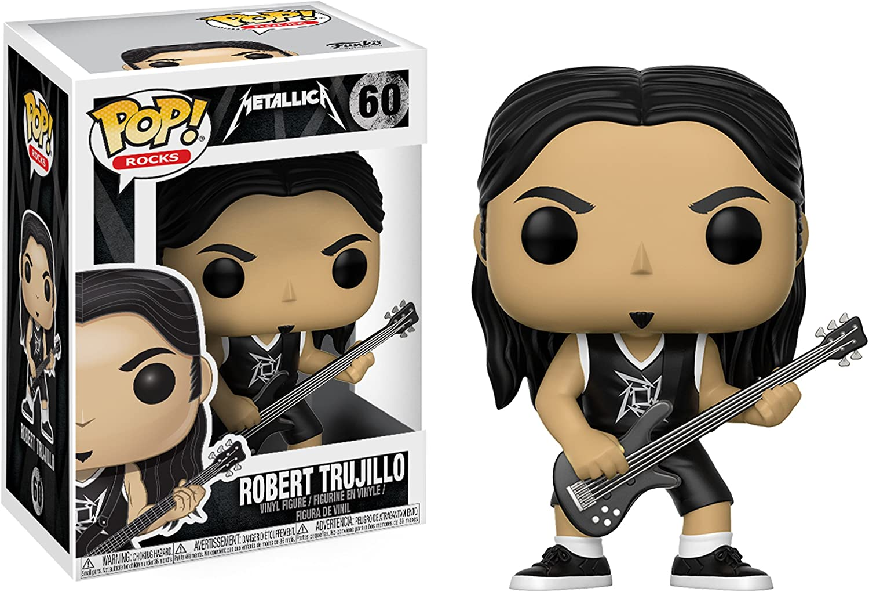 Funko POP! Metallica: James Hetfield + Lars Ulrich + Kirk Hammett + Robert Trujillo - Heavy Metal Band Vinyl Figure Set NEW: Amazon.es: Juguetes y juegos