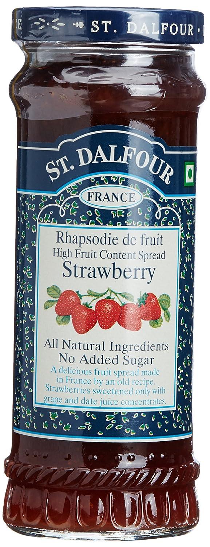 Amazon.com: St. Dalfour All Natural Fruit Spread Strawberry -- 10 oz ...