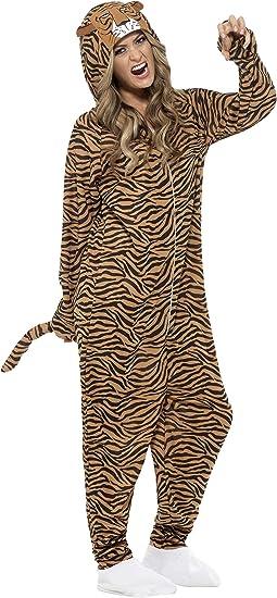 SmiffyS 55002M Disfraz De Tigre Con Traje Entero Con Capucha ...