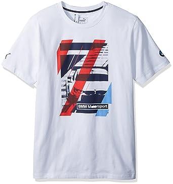 48b1ff3e92b Amazon.com: PUMA Men's BMW Motorsport Graphic T-Shirt: Clothing