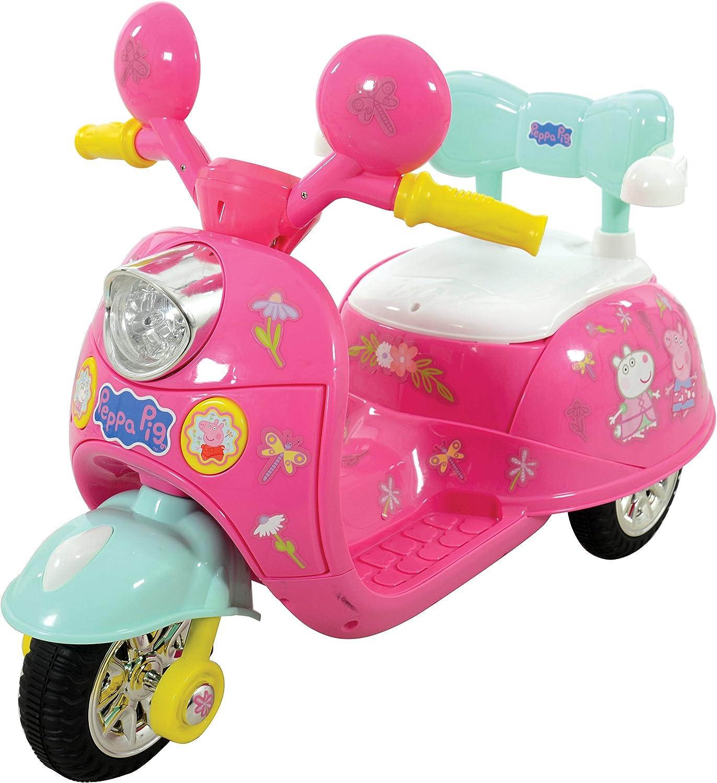Peppa Pig M09314 - Bicicleta de Triciclo (6 V, Talla única) (Producto con Enchufe de UK)