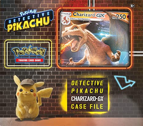 Amazon Com Pokemon Tcg Detective Pikachu Charizard Gx Case File