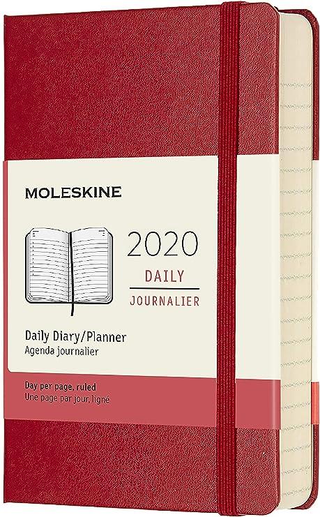 Amazon.com: Moleskine - Agenda diaria de 12 meses, bolsillo ...