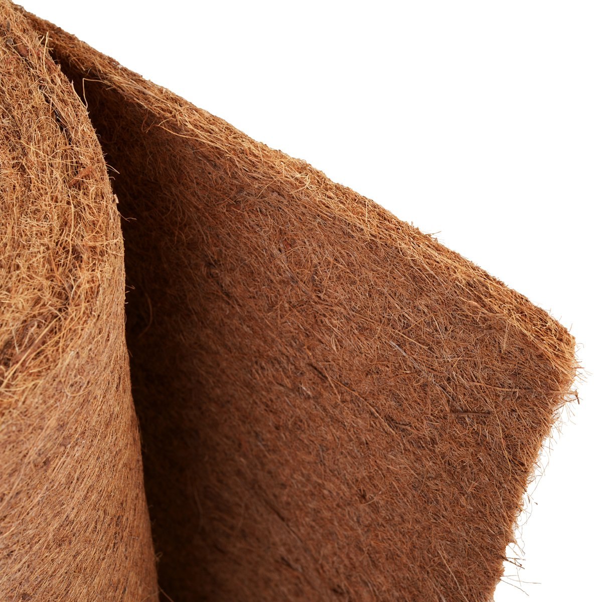 HaGa/® Kokosmatte einseitig mit Naturlatex bespr/üht 1m Br. Meterware
