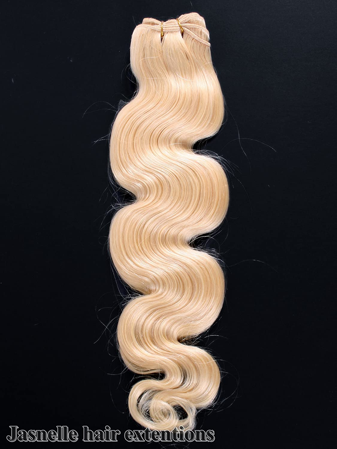 20 Inches 100 Indian Remy Wavy Weft Human Hair Extension Colour