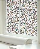 Film de fenêtre Artscape Nouvelle feuillaison 61x92cm, clair/multicolore
