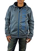 Alpinestars Mens Racer Z Waterproof Hooded Jacket, Medium, Charcoal