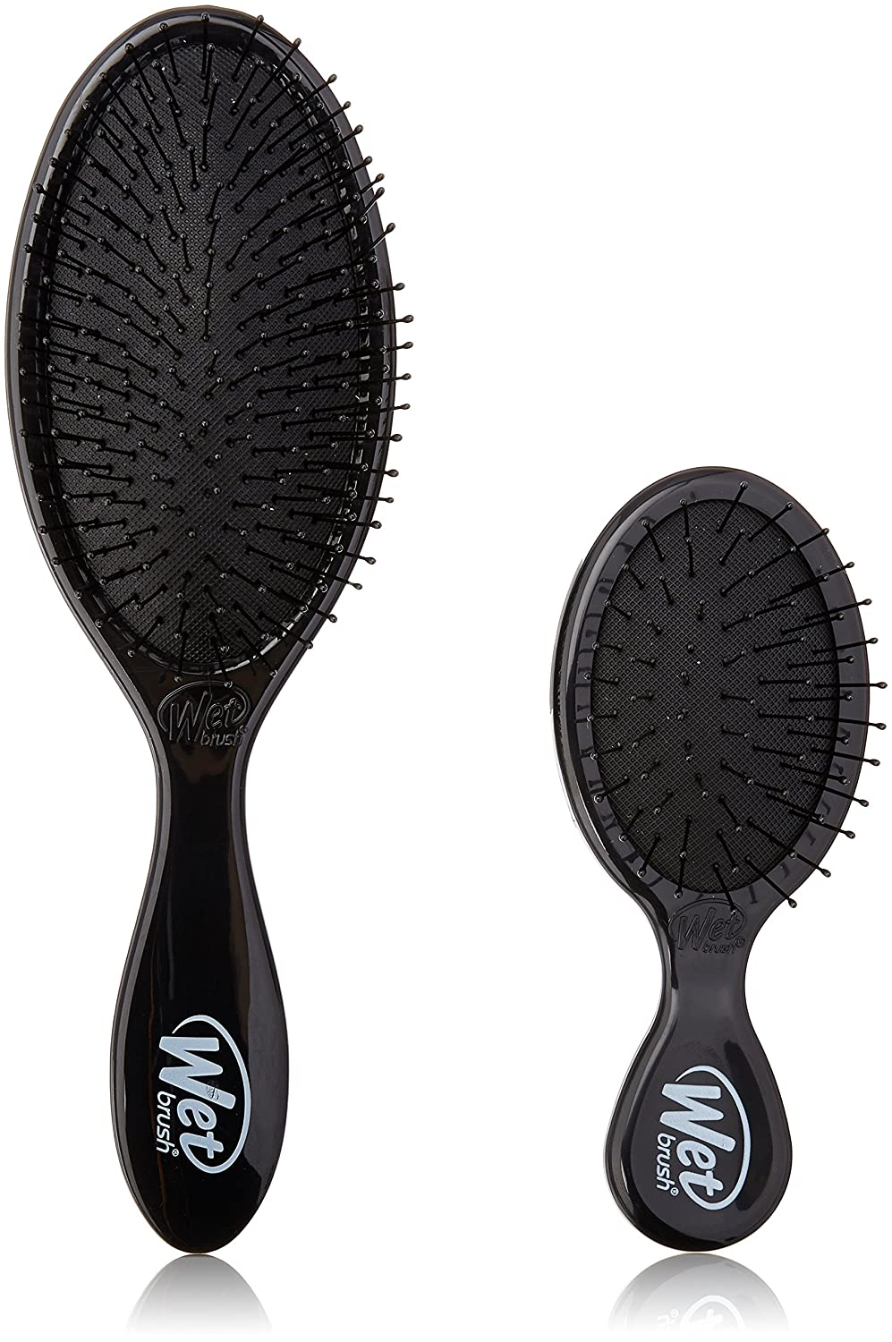 Amazon.com : The Wet Brush Standard & Squirt Combo, Black : Hair Brushes : Beauty