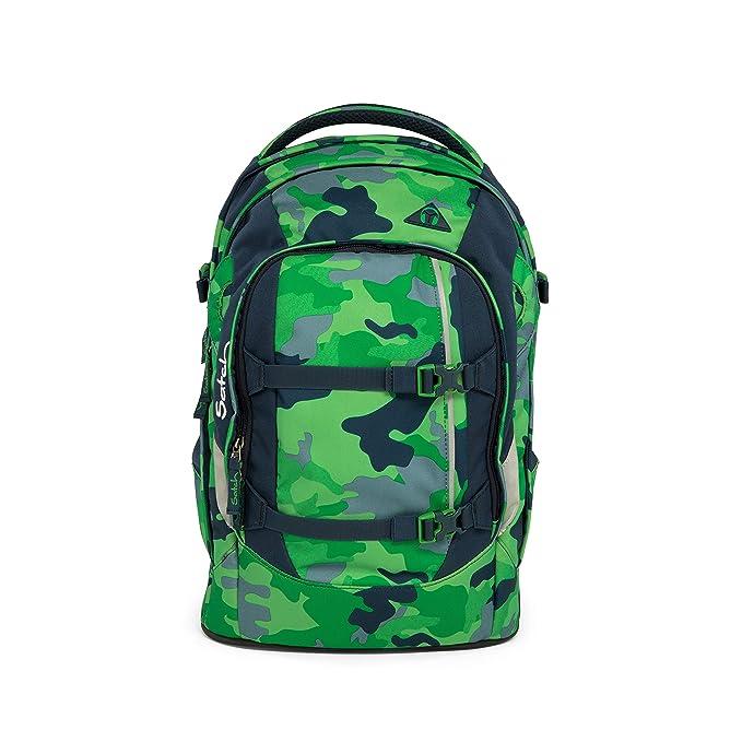 5 opinioni per Satch pack zaino scuola 48 cm compartimenti portatile Green Camou