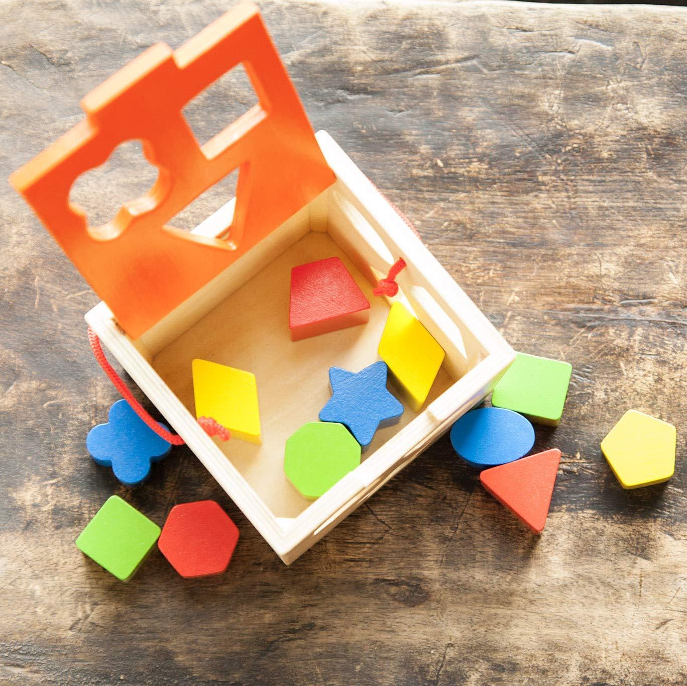 Fat Brain Toys Shape Sorter Take Along Shape Sorter
