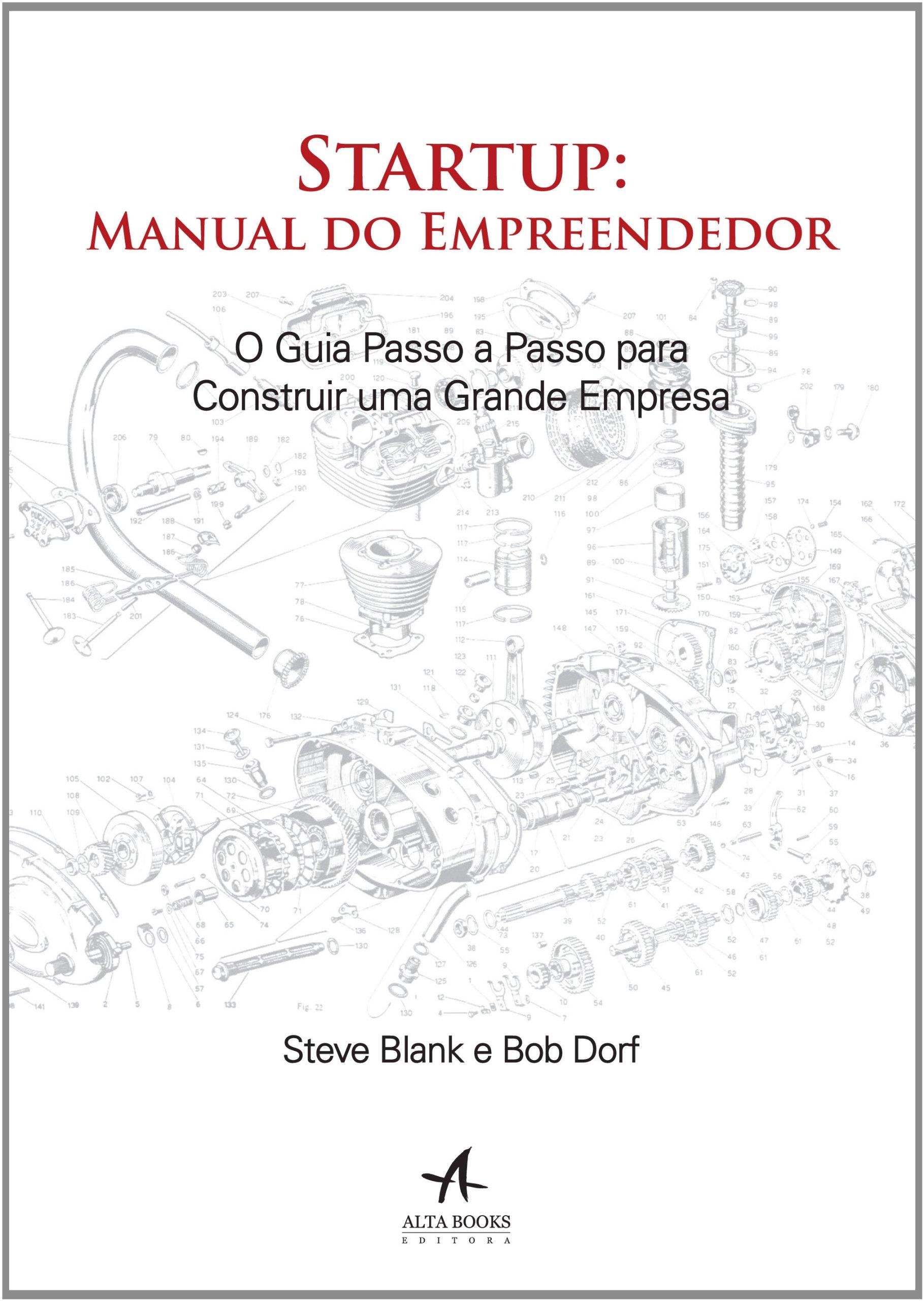 Livro startup: manual do empreendedor brochura | cia dos livros.
