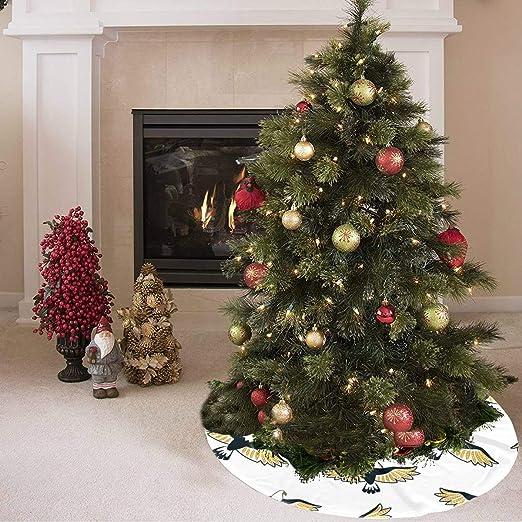 Falda de árbol de Navidad Buitre lindo Flying Bird Animal Print ...