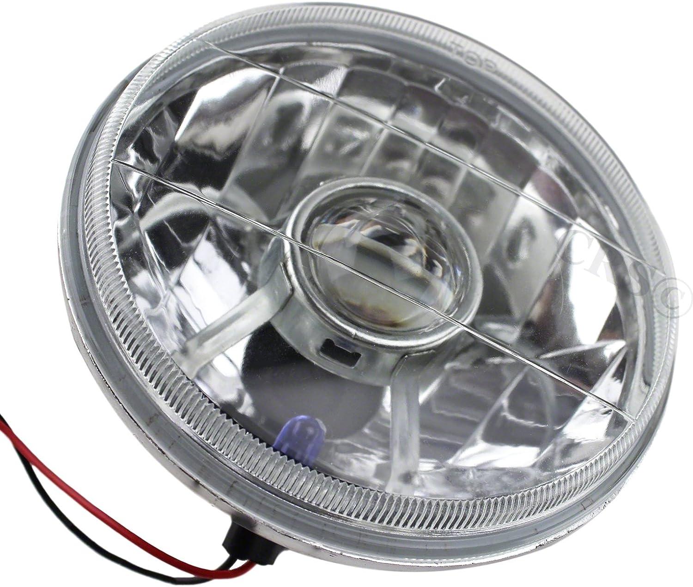 "Flat Lens//No Side Light//Main Cibie 5 3//4/"" Headlight//Lamp Conversions"