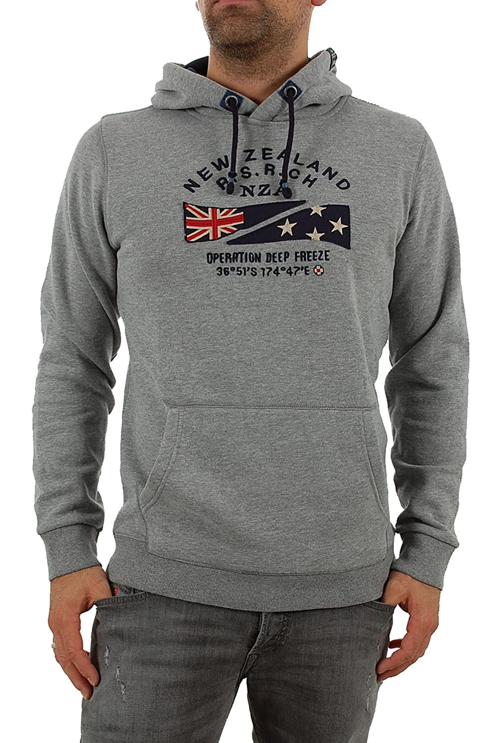 NZA New Zealand Auckland Herren Sweatshirt 16GN302 GARRY