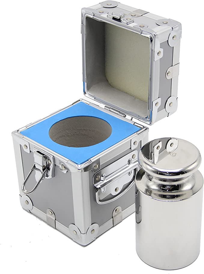 1 kg LW Measurements Class F2 Stainless Steel Calibration Test Weight