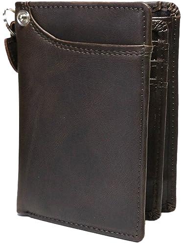 fb1422db4343 ブラウン 大人 本革 紳士 牛革 二つ折り 財布 短財布 2つ折り メンズ レディース 男性