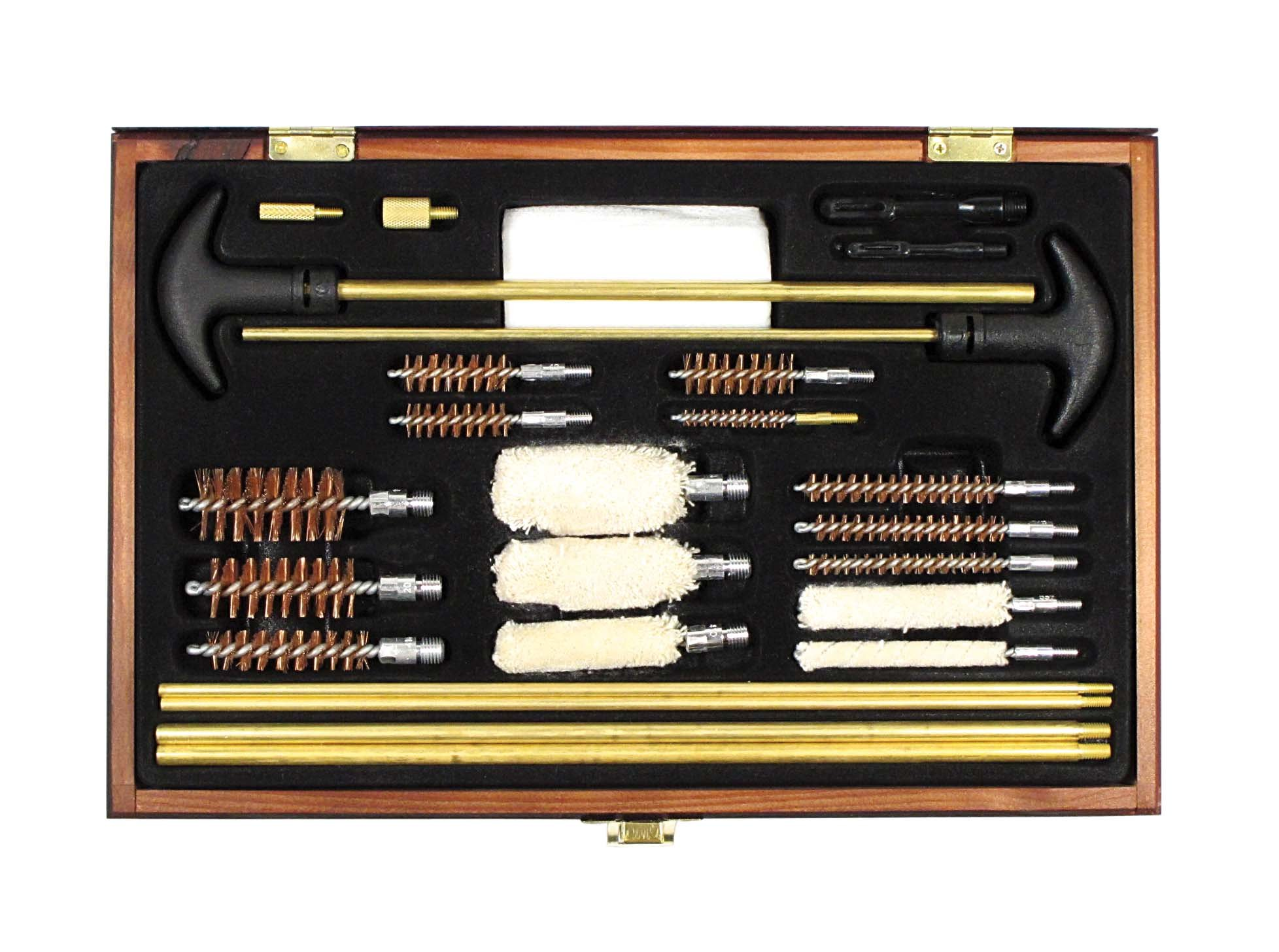 SE GC76M Gun Cleaning Kit, Universal, Wooden Box