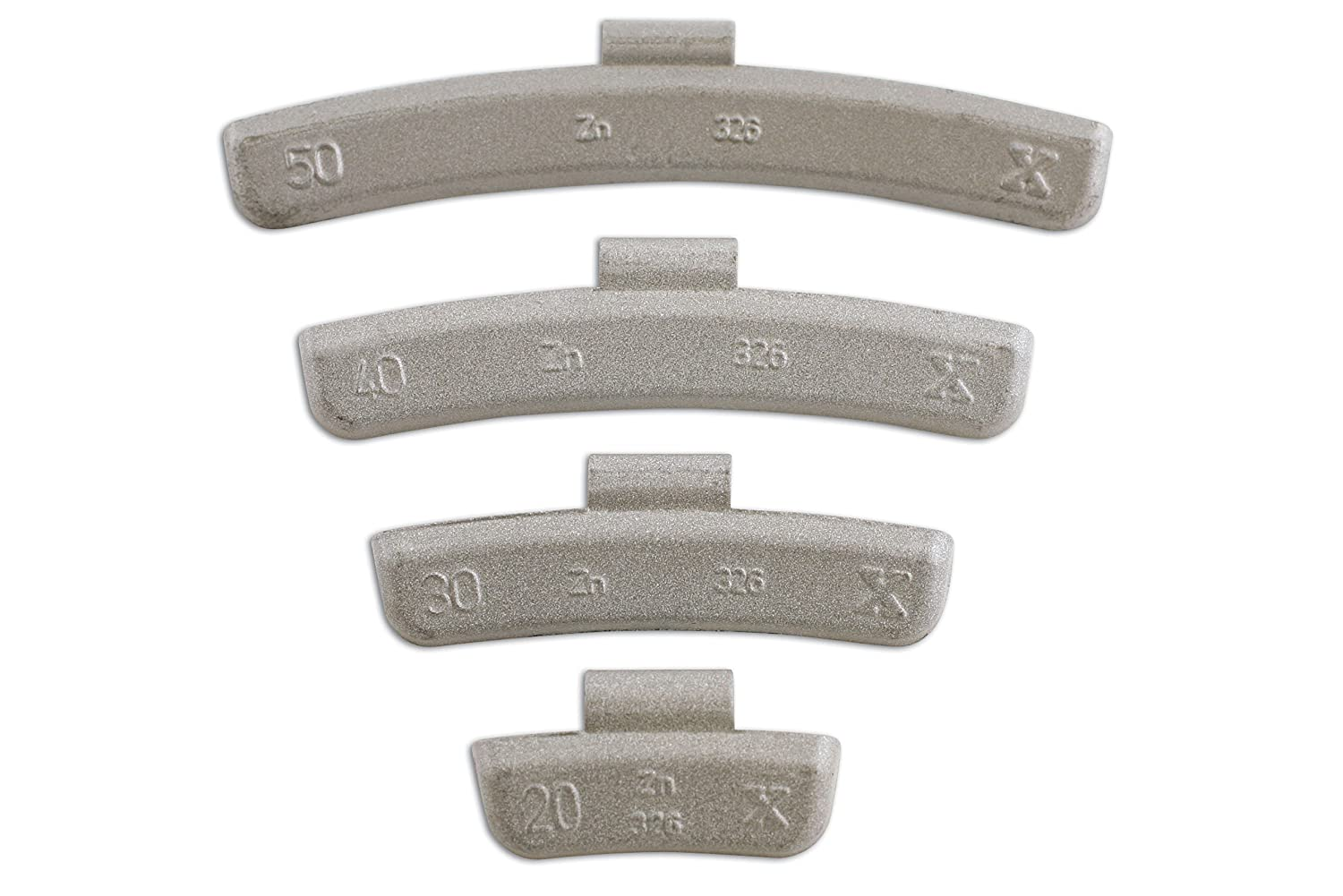 Connect 32861 45g Wheel Weights for Alloy Wheels (Box of 50) The Tool Connection Ltd.