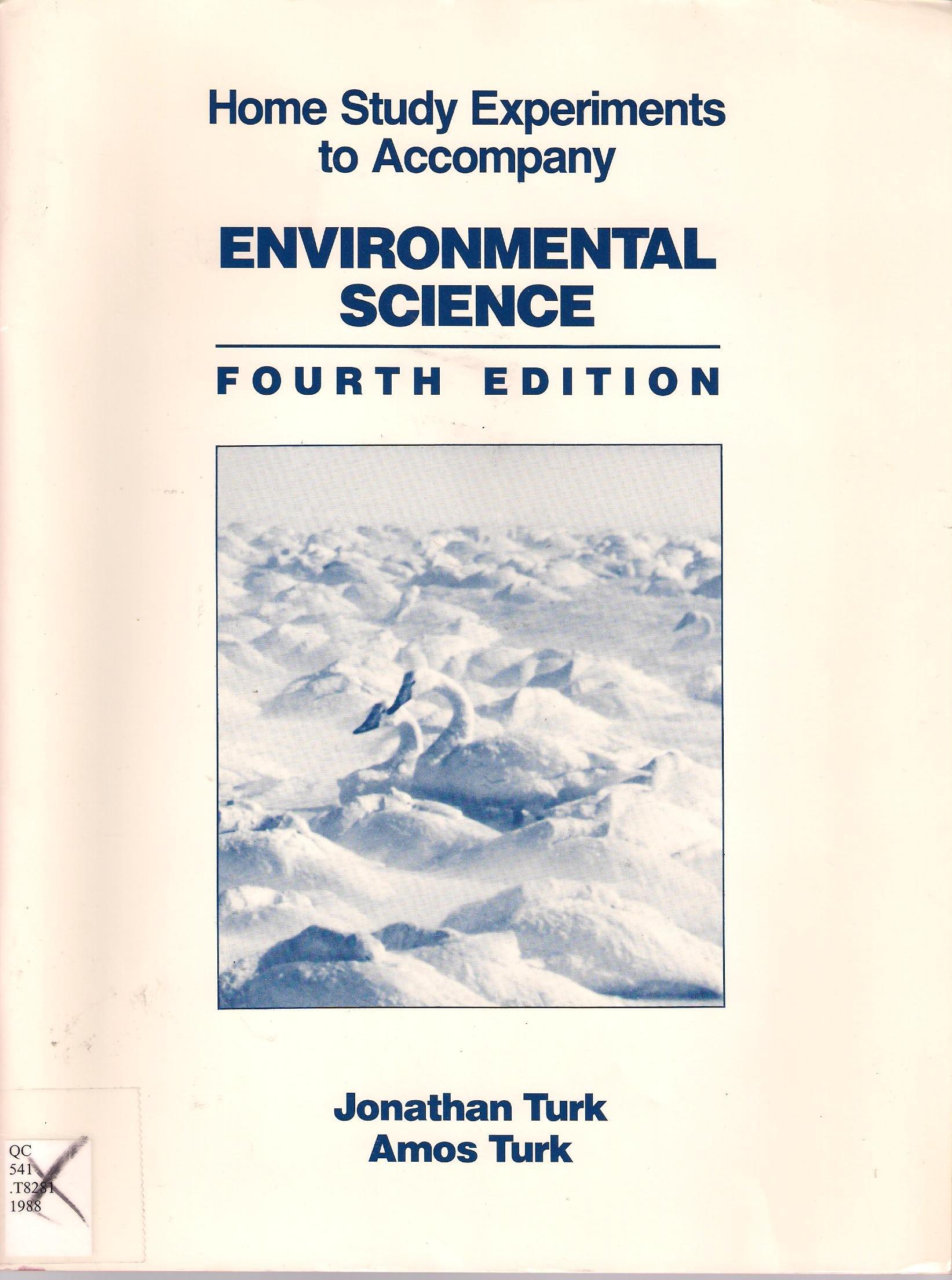Environmental Science: Take Home Experiments: Amazon co uk