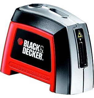 BLACK+DECKER BDL120-XJ - Nivel Láser, alcance 3 metros, pilas alcalinas