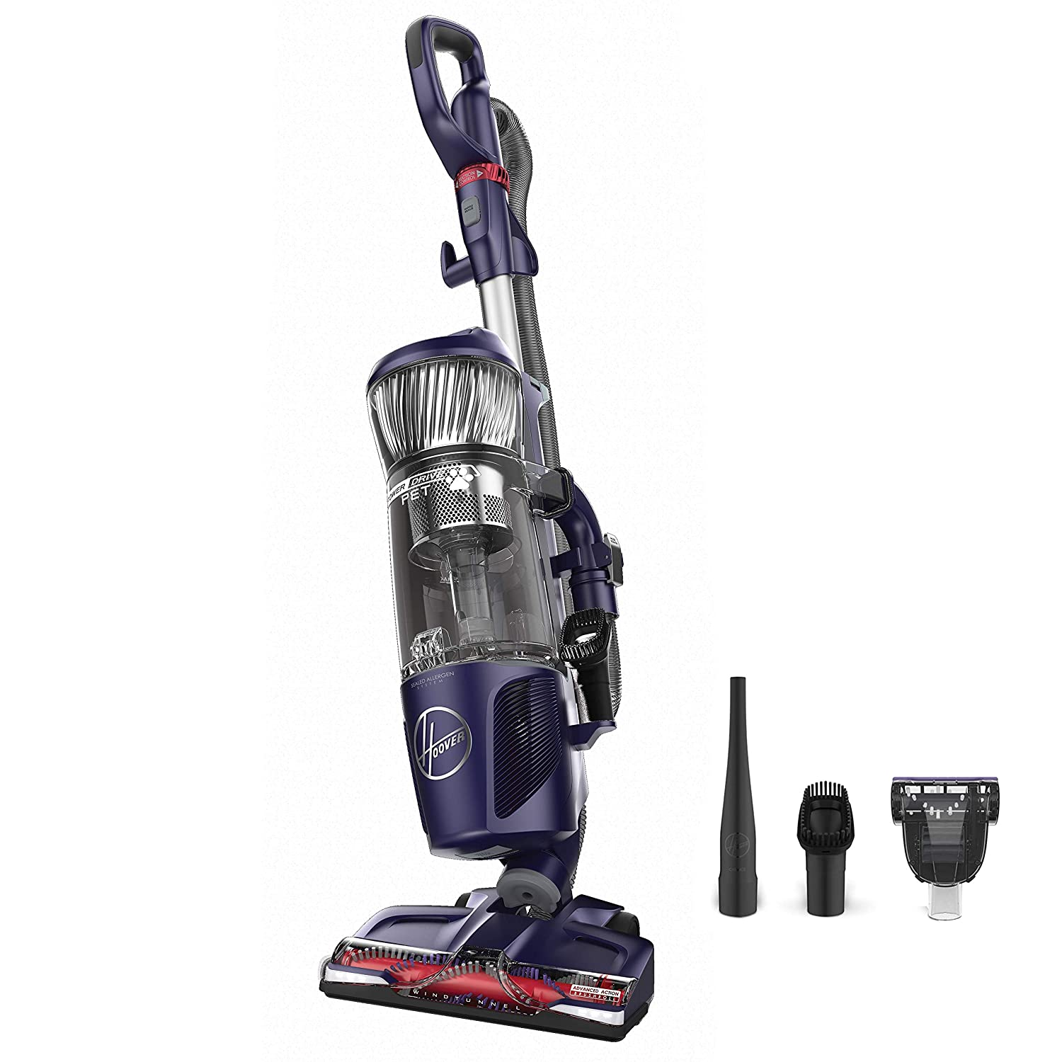 Hoover Power Drive Bagless Multi Floor Upright Vacuum Cleaner