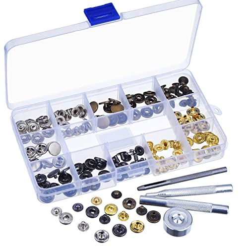 11mm Handheld Press Stud Attaching Tool for 11mm Poppers//Snaps Fastenings UK