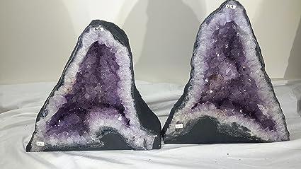 Amazon com: StarStuff Rocks Amethyst Crystal Cathedral Geode