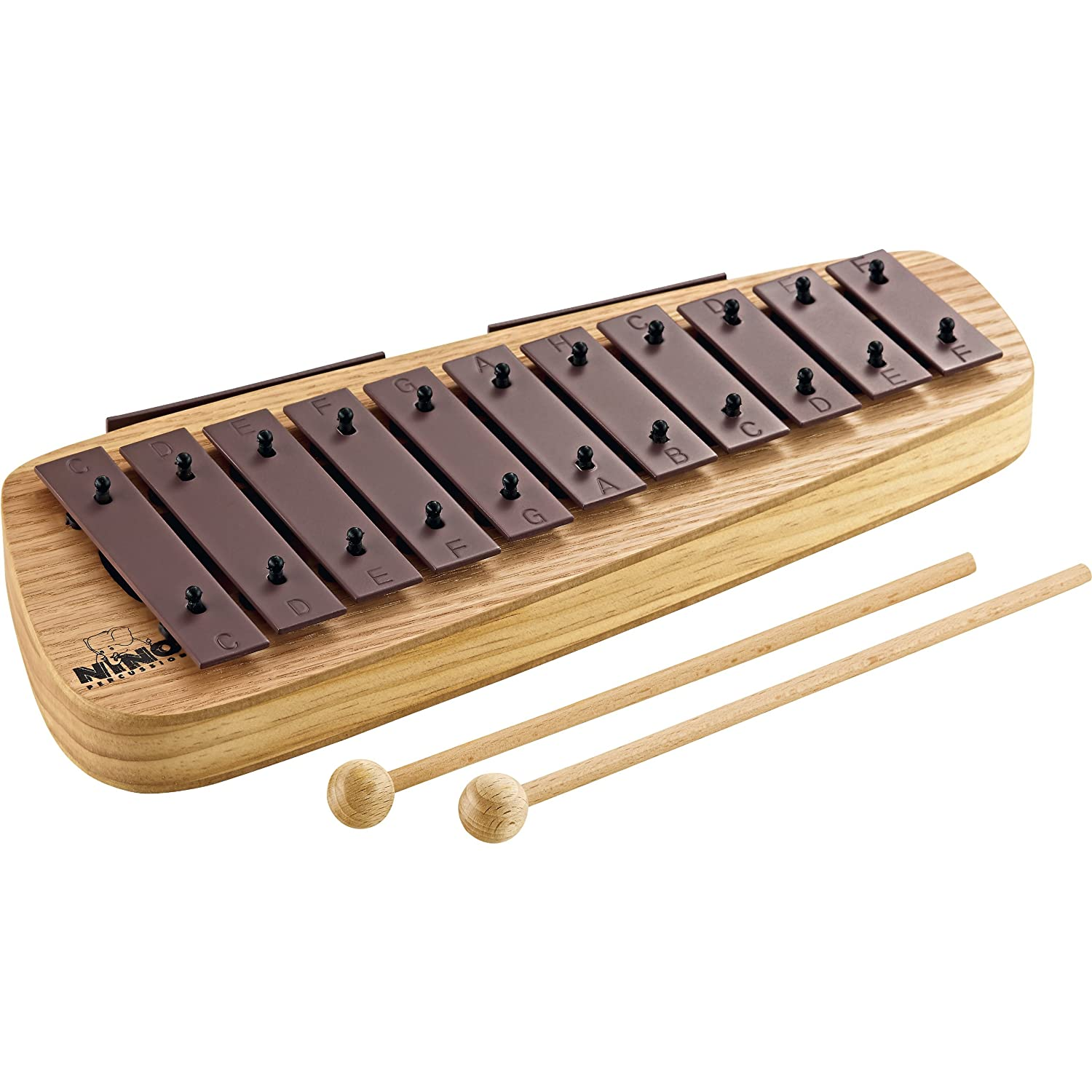 Nino Percussion NINO902 C Major Scale Glockenspiel with Steel Keys Meinl USA L.C.