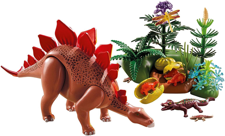 amazon com playmobil stegosaurus toys games