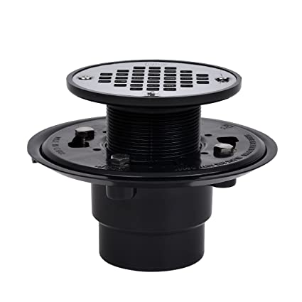 Oatey 42210 ABS Drain With Stainless Steel Strainer For Tile Shower Bases,  2 Inch