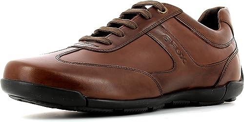 GEOX U Edgware A Schuhe Men Herren Sneaker Halbschuhe Schnürer U023BA043BCC9999