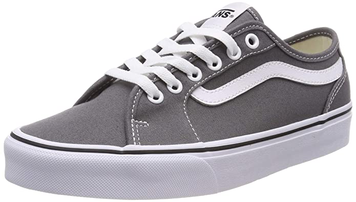 Vans Herren Filmore Decon Sneaker Canvas Grau Pewter/White 4wv