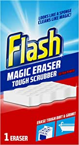 Flash Magic Eraser Extra Power Tough Scrubber