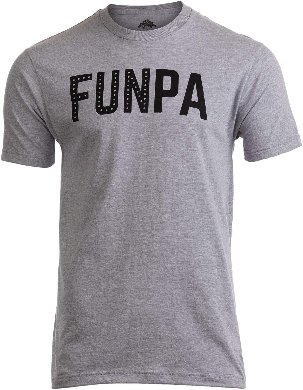 Funpa Funny Fun Grandpa Grandfather Papa Grandson Granddaughter Men Tshirt