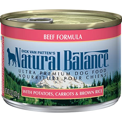 Natural balance ultra premium canned dog food beef formula 6 ounce natural balance ultra premium canned dog food beef formula 6 ounce pack forumfinder Image collections