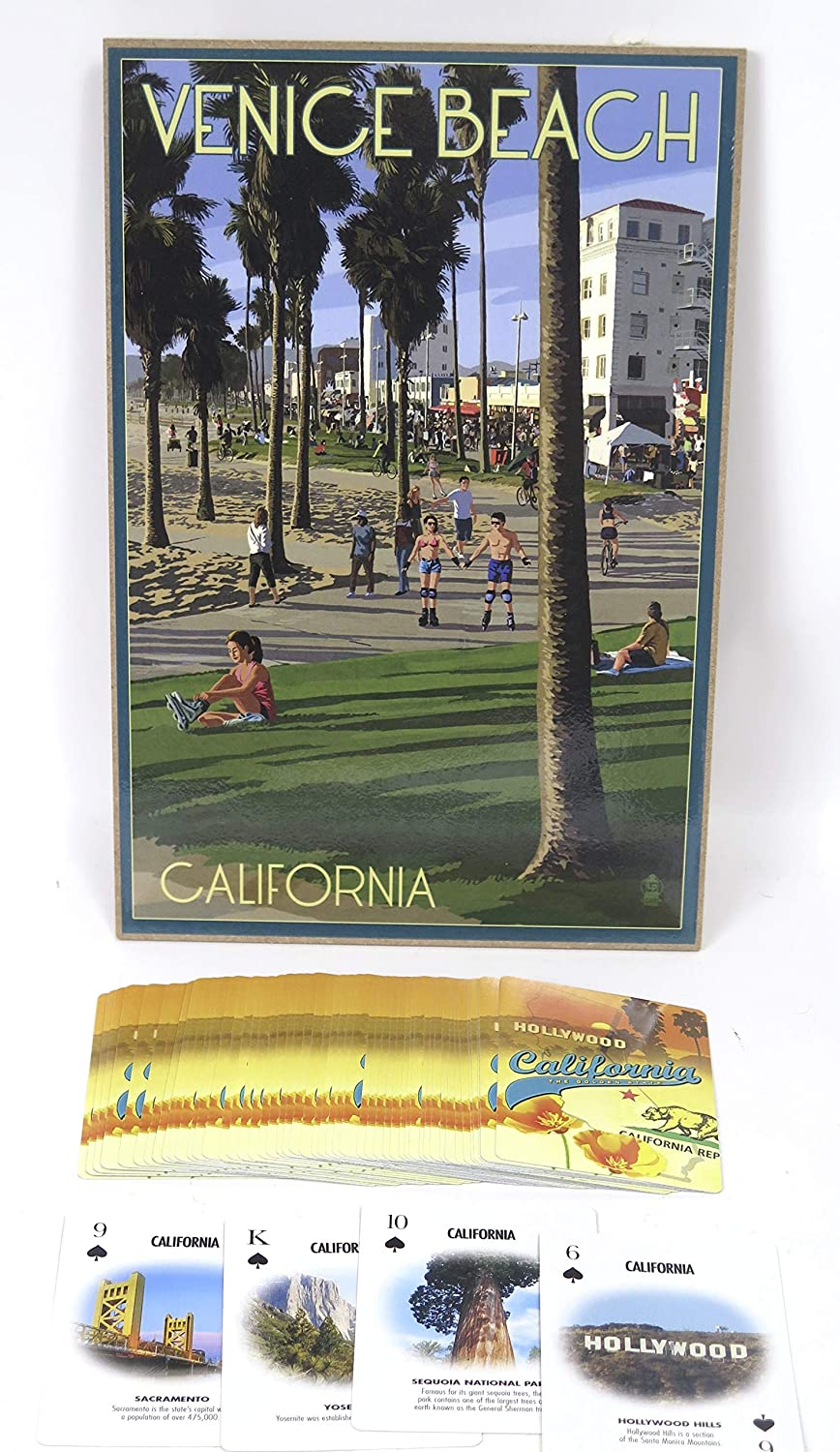 Amazon.com: Venice Souvenir Beach Plaque and a California ...