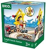 Brio - 33280 - Circuit - Train - Grue de Chargement de Marchandises - Nouveau