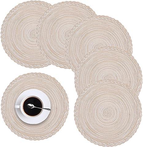 Set of 6 Cotton Placemats