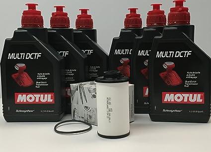 PACK aceite cajas DSG MOTUL MULTI DCTF 6 litro (G052182A2) + filtro original 02E305051